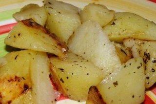 Receta de patatas asadas con tomillo