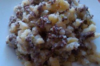 Receta de patatas cocidas con carne