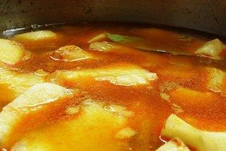 Receta de patatas con almendras