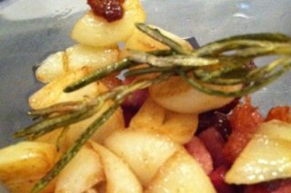 Receta de patatas con panceta