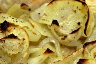Receta de patatas con tomates al horno
