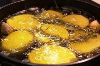 Receta de patatas confitadas