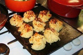 Receta de patatas duquesa