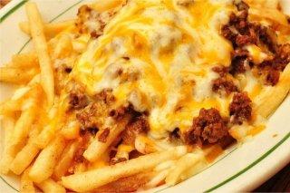 Receta de patatas fritas con queso