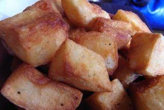 Receta de patatas fritas de guarnición