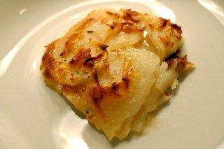 Receta de patatas gratinadas con bechamel