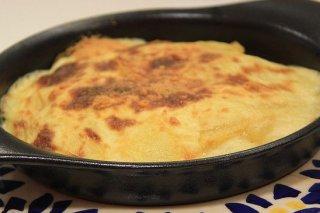 Receta de patatas gratinadas con cebolla