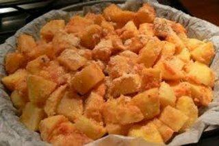 Receta de patatas gratinadas con parmesano