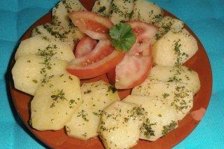 Receta de patatas nuevas al horno