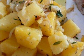 Receta de patatas parisinas