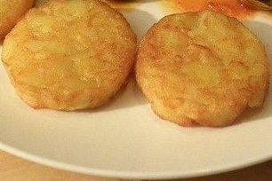 Receta de patatas rebozadas