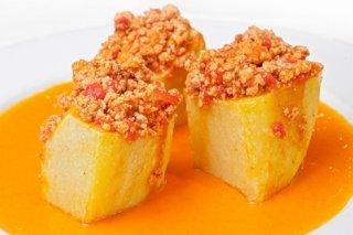 Receta de patatas rellenas al estilo cefe