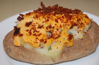 Receta de patatas rellenas de carne picada