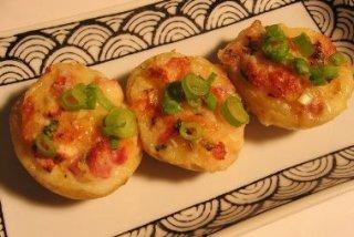 Receta de patatas rellenas de centollo
