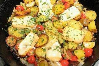 Receta de patatas salteadas
