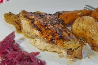Receta de pechuga de pollo asada