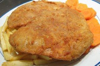 Receta de pechuga de pollo frita empanada
