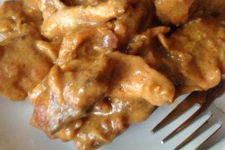 Receta de pechugas de pollo a la mostaza