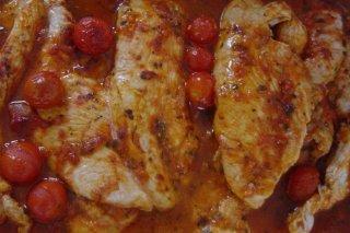 Receta de pechugas de pollo al pimentón