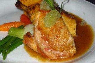 Receta de pechugas de pollo con azafrán