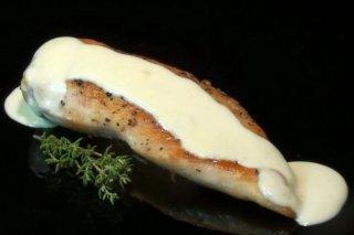Receta de pechugas de pollo con salsa roquefort
