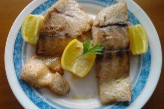 Receta de perca al limón