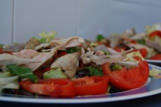 Receta de perdiz escabechada en ensalada