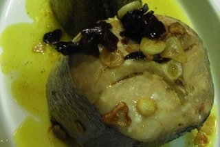 Receta de pescado al ajillo