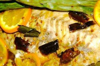 Receta de pescado al horno con limón
