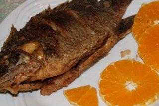 Receta de pescado al horno con naranja