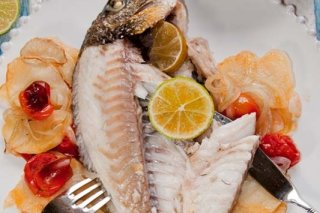 Receta de pescado asado al horno