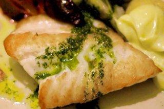 Receta de pescado asado al perejil