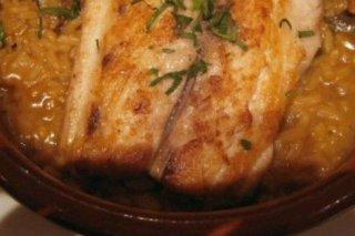 Receta de pescado con arroz