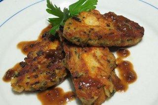 Receta de pescado con salsa de tomate