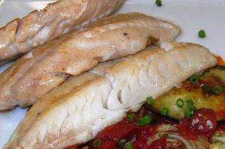 Receta de pescado en microondas