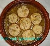 Receta de pescado en salsa con jamón serrano