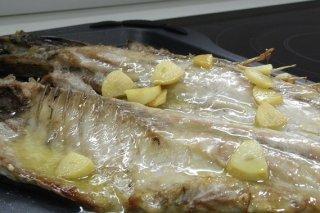 Receta de pescado entero al horno
