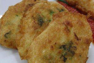Receta de pescado frito con perejil