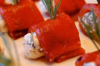 Receta de pimientos asados con queso