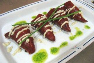 Receta de pimientos del piquillo rellenos de atún, huevo y mayonesa