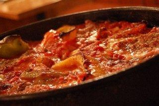 Receta de pimientos en salsa de tomate frito