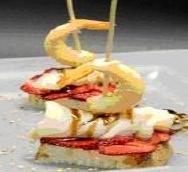 Receta de pincho de camarón y pescado blanco
