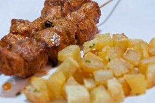 Receta de pinchos de carne