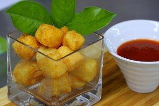 Receta de pintxos de mozzarella frita con uvas