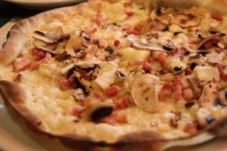 Receta de pizza caprichosa