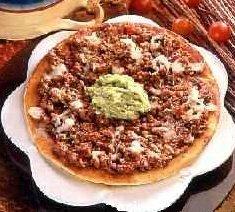 Receta de pizza criolla