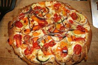 Receta de pizza cuatro estaciones