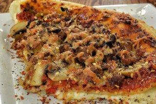 Receta de pizza de champiñones