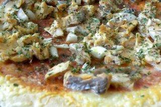 Receta de pizza de pescado