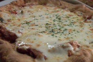 Receta de pizza de queso